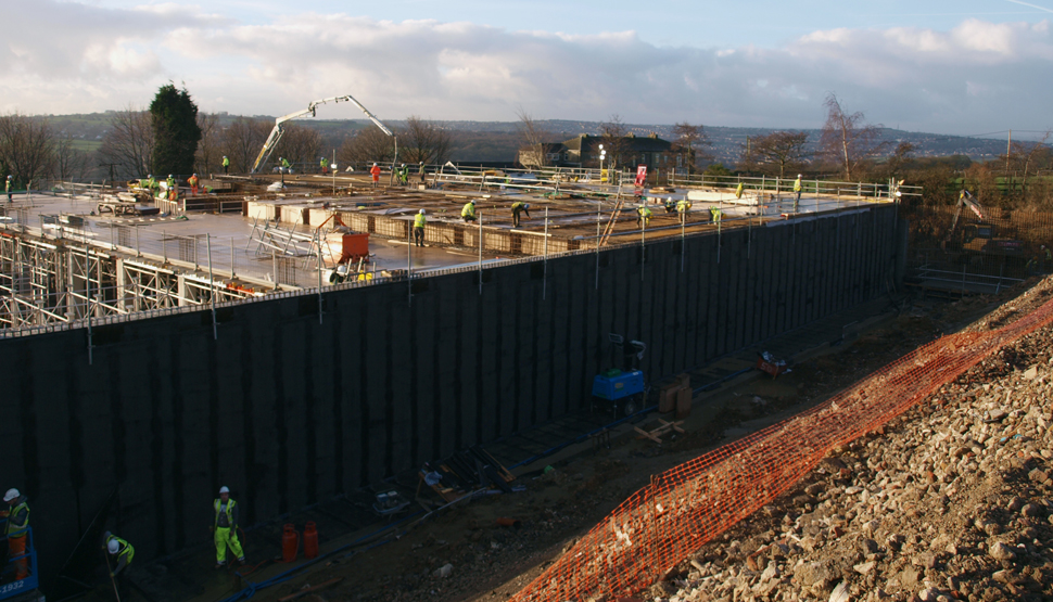 Rebuilding Airedale UK facility