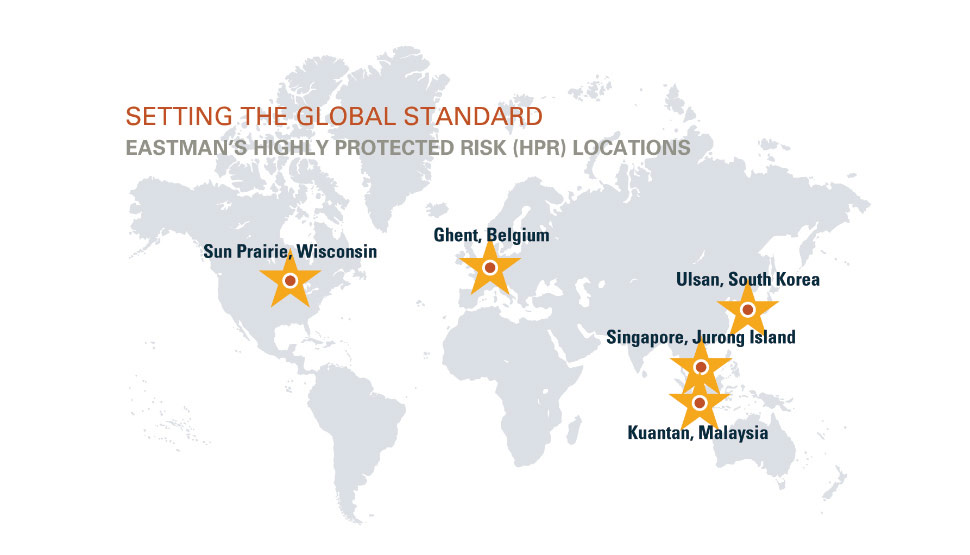 2016 FM Global Annual Report Eastman Client Profile - Setting the Global Standard