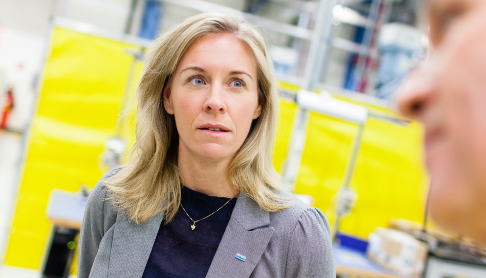 Emelie Ekholm, Group Risk Manager, Sandvik