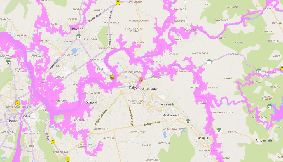New Flood Maps - Balurghat map