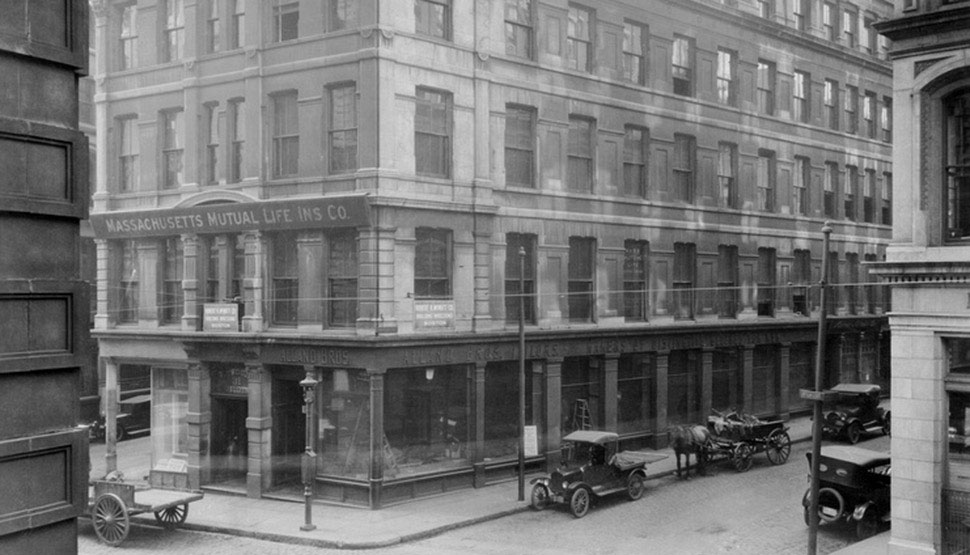 The original location of the Bureau of Inspections (later renamed Inspection Department) and FM Global's first laboratory.