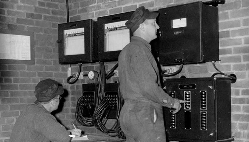 Various testing conducted at the Norwood, Mass., USA, facility during the 1940s.
